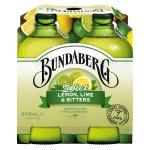 Bundaberg Lemon Lime & Bitters Diet 375ml bottles 4pk