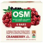 One Square Meal Muesli Bars Cranberry Blackcurrant 480g (80g x 6pk)