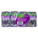 Twist Fruit Drink Blackcurrant 1000ml (125ml x 8pk)
