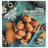 United Fish Co Fish Bites Tuna Croquettes 8ea 320g