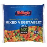 Talley's Mixed Vegetables 1kg