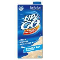 Sanitarium Up & Go Breakfast Drink Vanilla Ice carton 1l