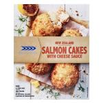 Sealord Cakes Salmon With Cheese Sauce 440g