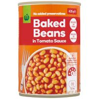 Countdown Baked Beans In Tomato Sauce 420g
