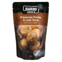 Naked Locals Fresh Soup Pukekohe Potato & Leek pouch 500g