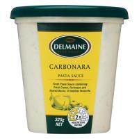 Delmaine Fresh Pasta Sauce Carbonara 325g