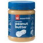 Essentials Peanut Butter Smooth 375g