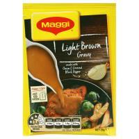 Maggi Instant Gravy Mix Light Brown sachet 28g