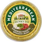 Mediterranean Dip Bowl Sundried Tomato & Spinach 135g