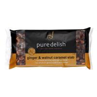 Pure Delish Slices Ginger Walnut & Caramel 400g