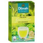 Dilmah Pure Ceylon Green Tea With Lemongrass 20pk