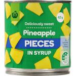 Countdown Pineapple Pieces In Syrup 425g