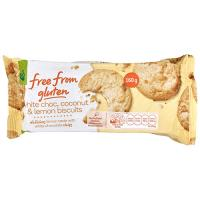 Free From Gluten Biscuits Coconut Lemon & White Choc 160g