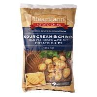 Heartland Potato Chips Sour Cream & Chives 150g