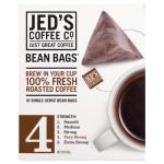 Jeds Coffee Co Coffee Bags Beans No 4 80g (10pk)