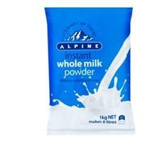 Alpine Milk Powder Whole 1kg