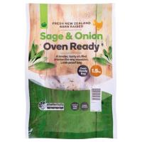 Countdown Oven Ready Chicken Whole Sage & Onion each 1.5kg