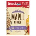 Freedom Foods Ultra Rice Cereal Maple Crunch Gluten Free 300g