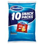Bluebird Potato Chips Ready Salted 180g  (18g x 10pk)