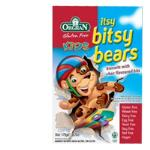 Orgran Biscuits Itsy Bitsy Bears 175g