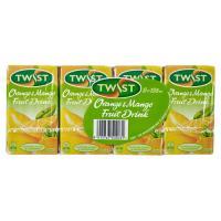 Twist Fruit Drink Orange & Mango 1000ml (125ml x 8pk)