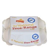 The Natural Spca Free Range 6PK