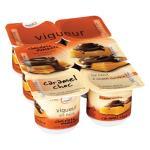 Yoplait Vigueur Dairy Food 6pk Caramel Choc 125g pottles 750g