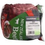 Countdown Beef Roast Topside min order 1.3kg per 1kg