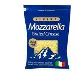 Alpine Cheese Grated Mozzarella 550g