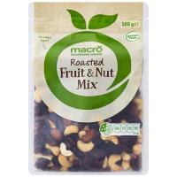 Macro Mixed Fruit & Nuts Roasted 500g