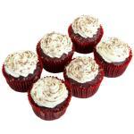 Countdown Instore Bakery Cupcakes Red Velvet 6pk