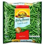 McCain Beans Baby Whole Green 500g