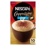 Nescafe Cafe Menu Coffee Mix Skim Cappuccino box 10 sachets
