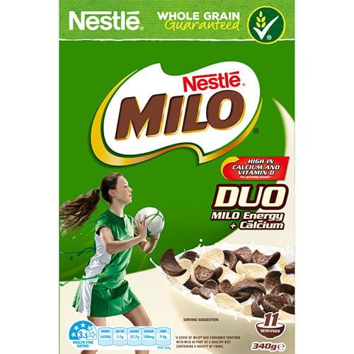 Nestle Cereal Milo Duo 340g