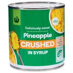 Countdown Pineapple Crushed In Syrup 425g