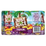 Just Juice Fruit Juice Tropical 1500ml (250ml x 6pk)