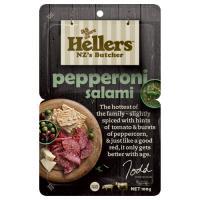 Hellers Salami Sliced Pepperoni 100g