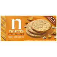 Nair ns Wheat Free Biscuits Stem Ginger 200g