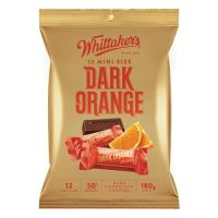 Whittakers Chocolate Bar Dark Orange Mini Slab 180g