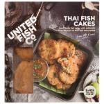 United Fish Co Fish Cakes Thai 320g