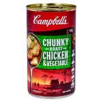 Campbells Chunky Canned Soup Roast Chicken & Vegetables 505g