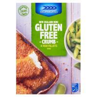 Sealord Fish Fillets Crumb Nz Hoki Gluten Free 300g
