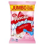 Pascall Family Pack Marshmallows Vanilla & Raspberry 520g