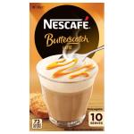 Nescafe Cafe Menu Coffee Mix Butterscotch Latte 180g box 10 sachets