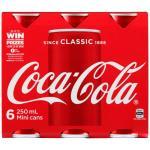 Coca Cola Soft Drink Mini 1500ml (250ml x 6pk)