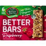 Mother Earth Better Bars Muesli Bars Raspberry 180g