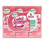 Meadow Fresh Calci Strong Flavoured Milk Strawberry Uht 1500ml (250ml x 6pk)