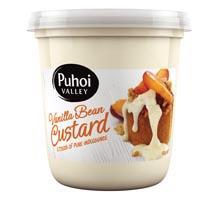 Puhoi Valley Custard Vanilla Bean 450g