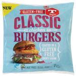 Tegel Chicken Burgers Gluten Free 750g