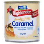 Nestle Highlander Condensed Milk Caramel can 380g